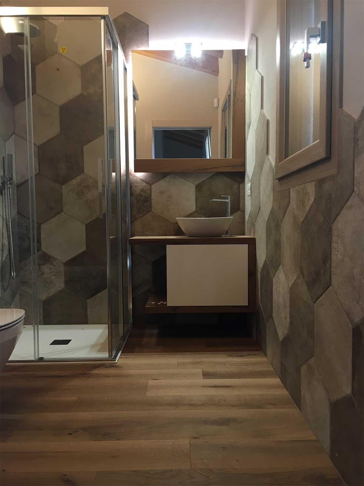 progetti realizzati il bagno su misura