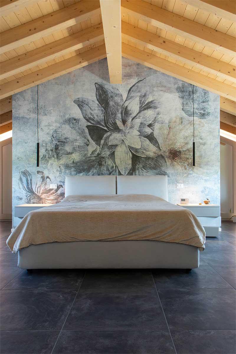 arredamento camera da letto progettato e realizzato su misura